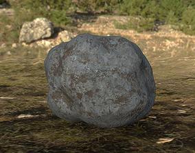 Simple Rock 2K Texture 3D model