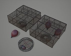 Crab and Lobster Traps - PBR and Game Ready 3D asset