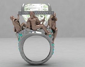 3D print model ring Fontana dei Quattro Fiumi