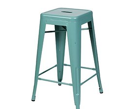 Pink Douglaston 26 Counter Stool 3D