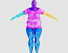 3D model Woman Fat