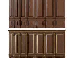wooden panel 02 01 3D model