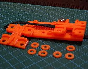 3D printable model X-axis Belt Clamp for Flsun Cube