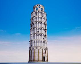 Pisa Tower Italy 3D model
