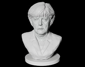 Angela Merkel 3D printable model
