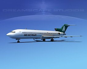3D model Boeing 727-200 Mexicana