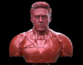 Iron Man Robert Downey Junior Bust 3D printable model