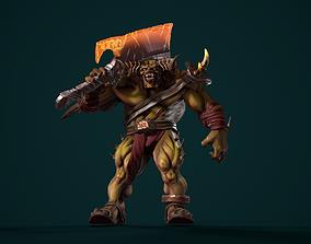 3D asset Character Demonson