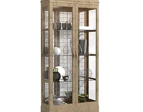 John Richard Living Room STALLINGS CABINET at 3D model 1