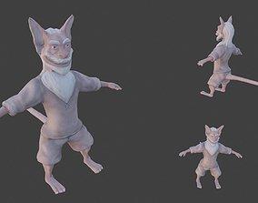 3D asset Fantasy Creature 57