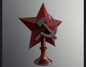 Soviet Star 3D model