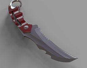 Karambit knife 2 3D printable model