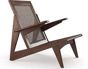 3D model Restoration Hardware Yves Chair