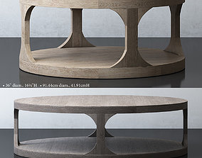 MARTENS ROUND COFFEE TABLE 3D model