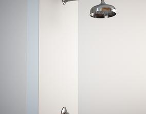 3D model Classic Shower - built in