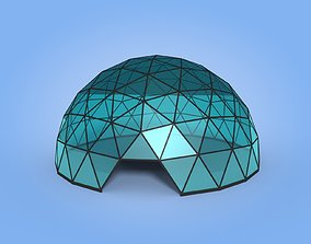 3D asset Geodesic Dome