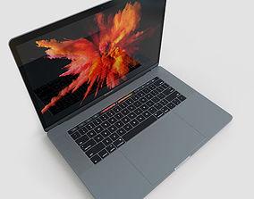 Apple MacBook Pro 15 Touch Bar 3D asset