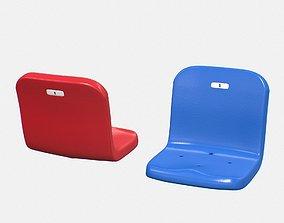 Stadium Seat 3D asset game-ready