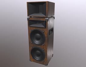 3D model realtime PBR Speaker