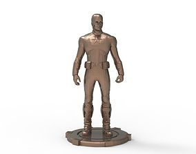 3D printable model Captain America Standing pose