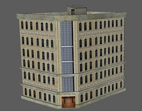 3D asset Low Poly Huge House