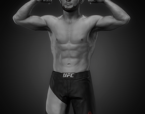 Khabib Nurmagomedov 3D printable model