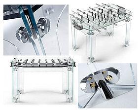 3D asset Soccer Table