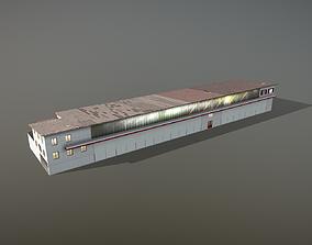 3D model Hangar LSZB HangarIV