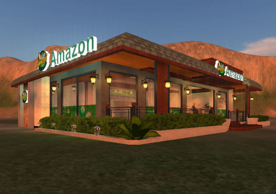 Architecture -  Cafe Amazon