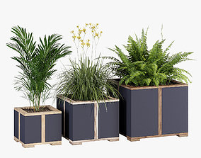 Aura planter one 3D model