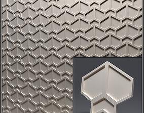 Gypsum 3D panel 15