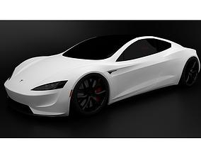2020 Tesla Roadster 3D print model