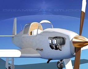 Mooney M-18 Mite Bare Metal 3D model
