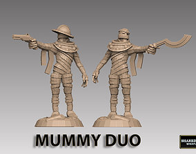 Mummy Duo 3D print model