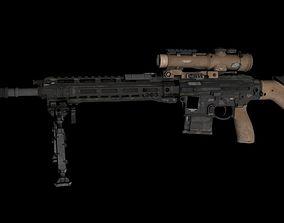 D-25S 3D Sniper high Polly VR / AR ready