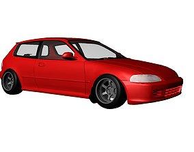 Car Exterior 3D model