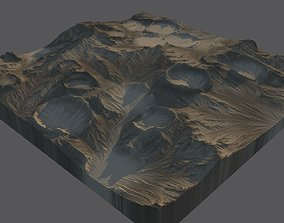 3D model Moon Surface