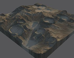 3D model Moon Surface