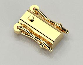 open box clasp 3D print model