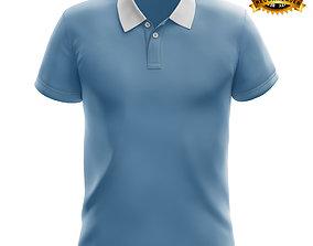 Polo t shirt 3D model