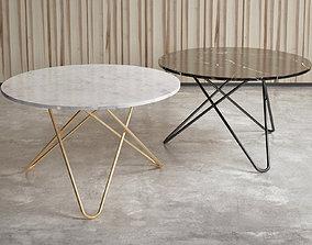 O Tables 3D model