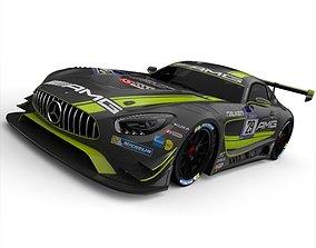 Mercedes-Benz AMG GT3 3D model