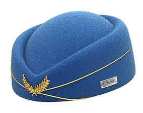 Stewardess Hat 3D model