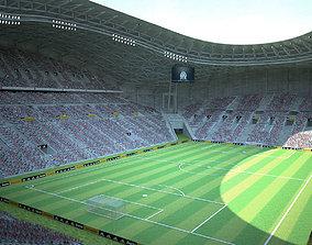 3D model Stade Velodrome Marseille
