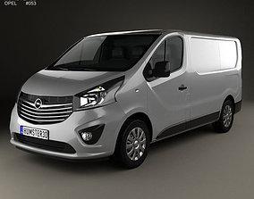 3D Opel Vivaro Panel Van L1H1 2014