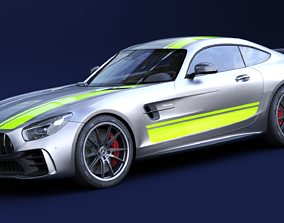 3D model Mercedes AMG GTR