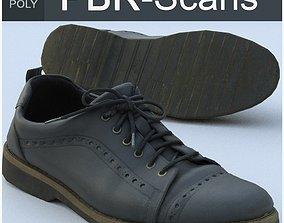 Shoe Low Poly 3D asset realtime