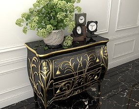 Cabinet and Decorations 5 3D