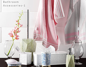 3D Bathroom accessories 03