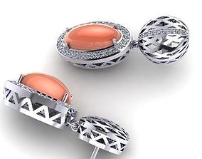 Earrings 3D printable model model
